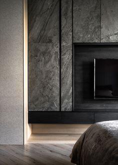 Feature Wall Design, Tv Wall Design, House Design, Tv Feature Wall, Lobby Interior, Luxury Interior, Modern Interior Design, Living Room Wall Units, Living Room Designs