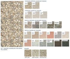 Finishes - Doty & Son's Concrete