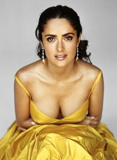 Latin Women know how to work with whatever they have. Though small, they have beautiful bodies and distinctive features. Salma Hayek is the dream - talented, beautiful and smart #SalmaHayek