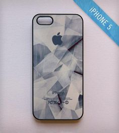 Broken Glass iPhone 5 Case - Navy by BlissfulCASE on Scoutmob Shoppe