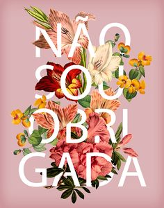 Typography Flower on Behance
