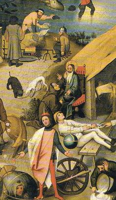 The dutch Proverbs (detail), by Pieter Bruegel de Oude Pieter Bruegel The Elder, Mixed Media Collage, Renaissance, Collections, Characters, Drawings, Illustration, Photos, Painting