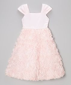 This Pink Ruffle Shift Dress - Toddler & Girls by Kid's Dream is perfect! #zulilyfinds