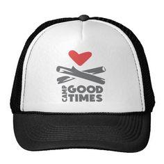 Camp Goodtimes Trucker Hats http://www.zazzle.com/camp_goodtimes_trucker_hats-148853121359070292?rf=238675983783752015