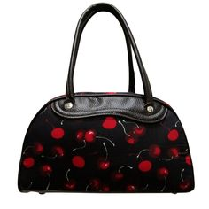 Cherry Bowling bag [BG-034] - $19.29 : Pin Up Rockabilly Clothing | 50s Vintage Clothes | Pinup Clothing Shop