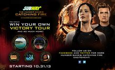 catching fire subway collectible cup  | We reported back in July that Lionsgate would be partnering with ...