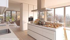 COCINAS MODERNAS: Bulthaup - System b1. La cocina bella y accesible.