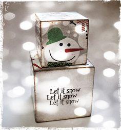 Let It Snow Blocks Christmas 2012