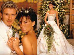 Бекхэмы показали раритетные свадебные снимки в честь годовщины
