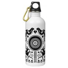 Folklore Water Bottle with Holder