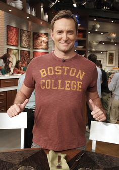 Way to represent, Clinton! Boston College, College Fun, My Brother Quotes, The Chew Tv Show, Clinton Kelly, Go Eagles, Tv Presenters, Book Tv, School Spirit