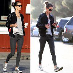 Alessandra's Bomber #streetfashion #moda #styling #stealthelook #look #looks #ootd #shopthelook #compreolook #roubeolook #stealherlook #stelherstyle #stealthestyle #fashionblog #fashionblogs #blogger #bloggers #modelos #AlessandraAmbrosio