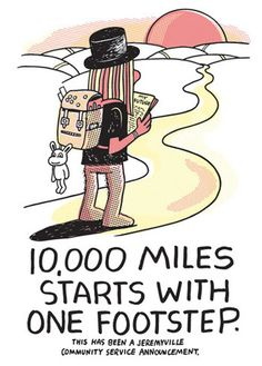 Jeremyville Corner Store — 10,000 Miles Starts With One Footstep