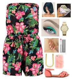 """""""Untitled #234"""" by nun-for-free ❤ liked on Polyvore featuring Boohoo, Bonnibel, Givenchy and MICHAEL Michael Kors"""