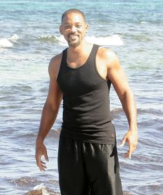 Celebrity Photos: July 2014 Will Smith enjoyed a beach day on vacation in Ibiza, Spain July 10