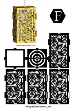 Leaves Laser Cut Wooden Pendant Light Shades Free Png Drawings