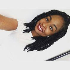 Short Marley Twist - Tiara Niche - @tiaraniche