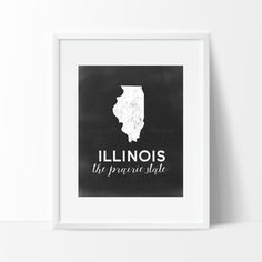 Illinois Printable by SamanthaLeigh on Etsy