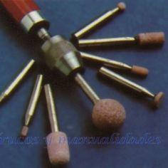 Muelas de corindón Dremel, Bobby Pins, Hair Accessories, Outdoor Furniture, Glasses, Stone Crafts, Wire, Bracelets, Tools