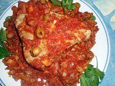 La meilleure recette de Steak de thon à la marseillaise! L'essayer, c'est l'adopter! 5.0/5 (6 votes), 6 Commentaires. Ingrédients: Un steak de thon albacore de 480 gr environ, un oignon rouge ou 2 échalotes,3 gousses d ail, un fenouil, une cas d herbes de provence, une de concentré de tomate, une cac de paprika, une boite de pulpe de tomate, huile d olive, 15 olives vertes, 10 cl de vin blanc, une pincée de sucre,5 cl de pastis