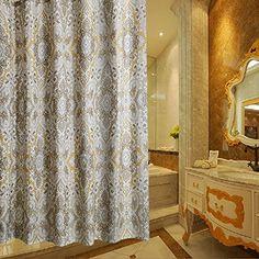 Ufaitheart Romeu0027s Life Pattern Extra Long Shower Curtain Polyester  Waterproof Fabric Shower Curtain 78 X 84