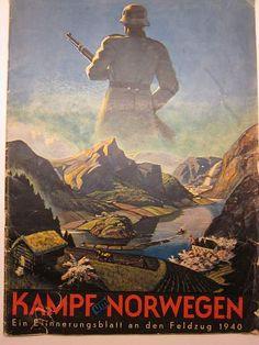Norvegian SS recruiting poster,1940