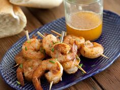 'Creole Shrimp Skewers for Mardi Gras — Simple Soirées' Looks so good for Lenten season .... found this on Food Network