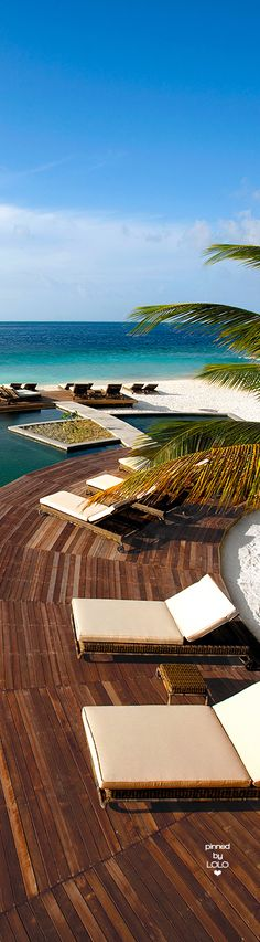 Stay in a unique 5 star Hotel in Maldives. Constance Moofushi is set on the private island. Amazing Destinations, Vacation Destinations, Dream Vacations, Vacation Spots, Places Around The World, The Places Youll Go, Places To Visit, Around The Worlds, Visit Maldives