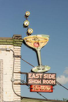 Neon: East Side Show Room Eat Drink