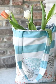 A year or two ago I made a fun and easy tote bag tutorial because my friend needed a bag for carrying her church stuff. I made her the bag, took pictures of the process and blogged it. And it's ended up being one of the most popular posts on Crazy Little Projects! So when …