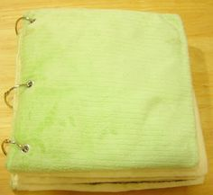 How to sew the quiet book pages