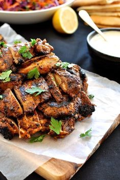 Chicken Sharwarma - A handful of common spices to make this incredibly aromatic chicken. 5 minutes to prepare, whether for 4 or 40 people.
