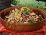 Blue Cheese Cabbage Slaw Recipe ... maybe this will work, but I'd skip the chipotle and halve the mayo.
