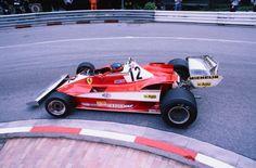 Gilles Villeneuve Ferrari 312T3 Monaco Grand Prix 1978