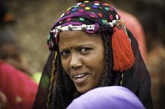 Africa | Colours of Harar. 'Young Argoba Woman'. Kouroumi. Ethiopia | © Georges Courreges.