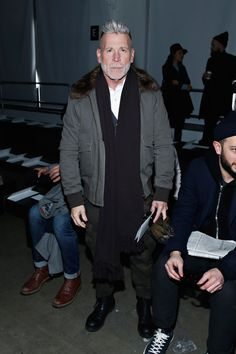 Nick Wooster Photos - N. Hoolywood - Front Row - Mercedes-Benz Fashion Week Spring 2015 - Zimbio