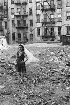 Helen Levitt, and her photos of New York's Spanish Harlem in the 1930's.