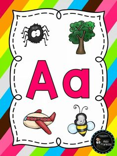 Vocales Toddler Worksheets, Preschool Education, Writing Resources, English Lessons, Pre School, Art Lessons, Coloring Pages, Activities For Kids, Alphabet