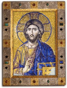 Hagia Sophia - Mosaic of John Comnenus - Eirene - Alexios - Theotokos