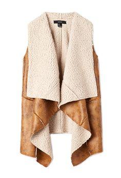 Купить Форевер 21 женщин природные Юг искусственной дубленки жилет, стартует от €24. Похожие товары также доступны. Продажи теперь на!