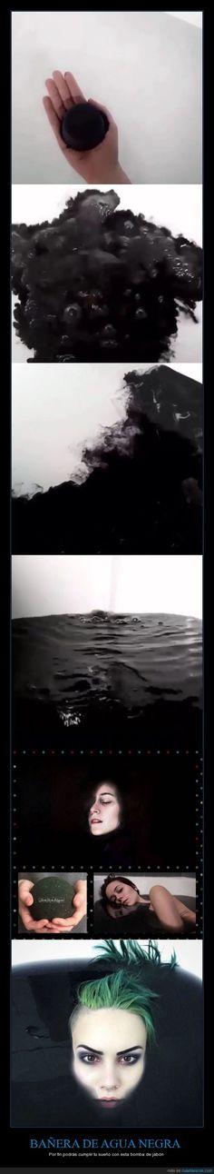 Esta pastilla va a convertir tu bañera en una piscina de agua negra - Por fin podrás cumplir tu sueño con esta bomba de jabón   Gracias a http://www.cuantarazon.com/   Si quieres leer la noticia completa visita: http://www.estoy-aburrido.com/esta-pastilla-va-a-convertir-tu-banera-en-una-piscina-de-agua-negra-por-fin-podras-cumplir-tu-sueno-con-esta-bomba-de-jabon/