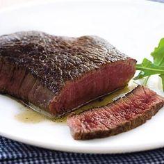 Biefstuk (Dutch steak cooked in butter)