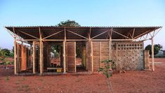 Educational Building In Mozambique © Tord Knapstad