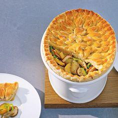 Rezept aus Das große Buch der Pasteten: Kartoffel-Artischocken-Steinpilz-Pie