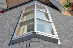 For a pitched roof
