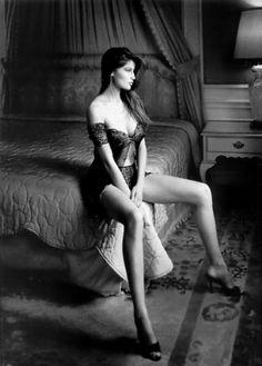 Avatar femme sexy noir & blanc