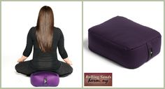 Hugger Mugger Zen Pillow $52.98  This is a great gift idea for anyone. This zen pillow is great for a cross-legged position, kneeling position (seiza), or sitting in reclined yoga poses. Filled with 100% Organic Buckwheat Hulls. Shop online or in store!