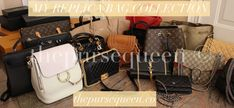 Where do I buy replica bags? Hi guys! I get a lot of emails about what sites I recommend for buying replica bags and here are some dealer/sites I shop with right now. Cheap Purses, Cute Purses, Cool Street Fashion, Look Fashion, Fashion Tips, Fashion Bloggers, Street Style, Replica Handbags, Purses And Handbags