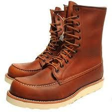 red wing, irish setter red, 10.5 Red Wing Moc Toe, Red Wing Boots 980efe52b855