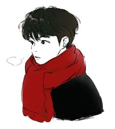 Kpop Drawings, Cartoon Drawings, Art Drawings, People Illustration, Illustrations, Illustration Art, Manga Anime, Anime Art, Anime Guys